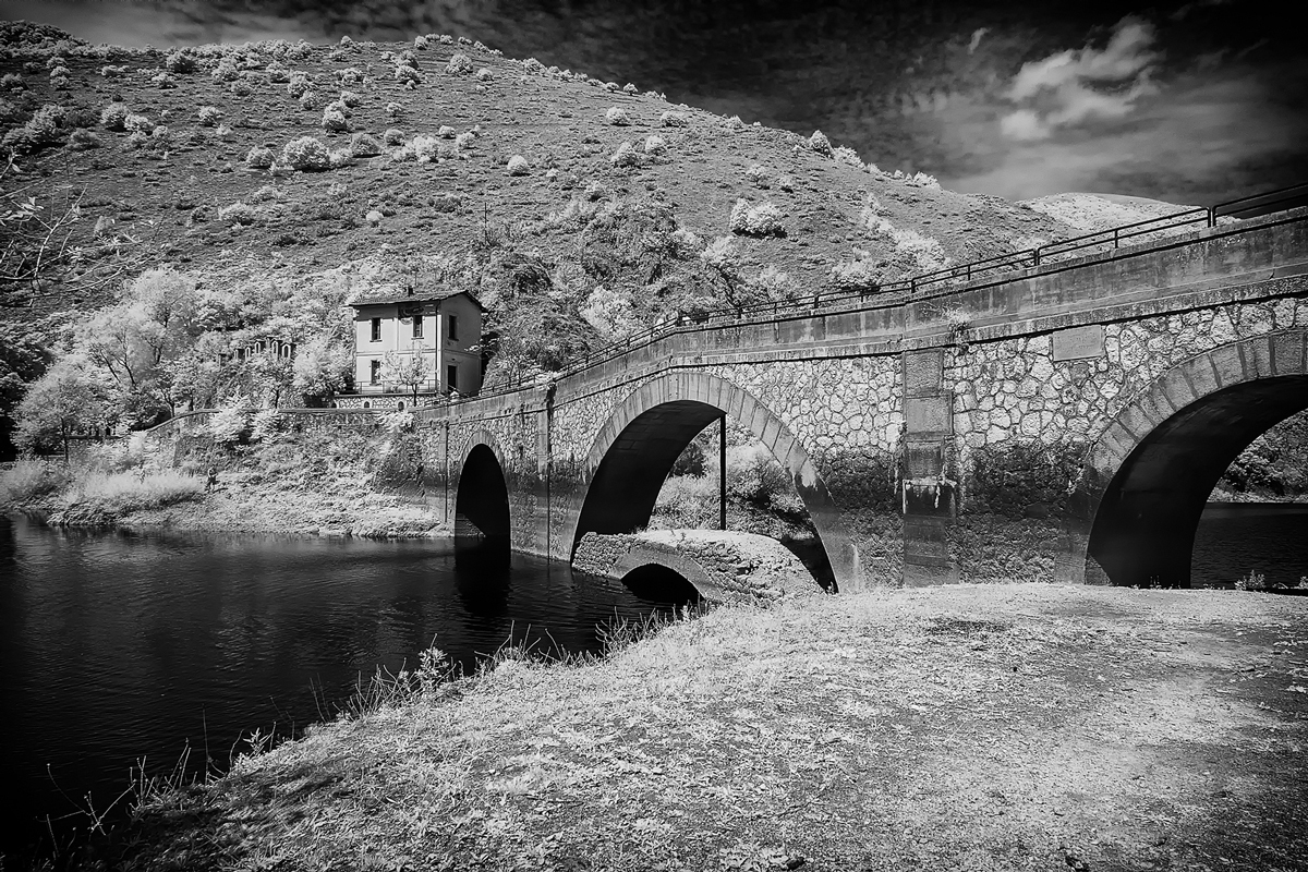 Infrared-hermitage-bridge