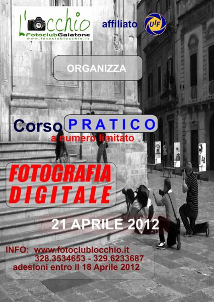 LOCANDINA CORSO FOTO 2012